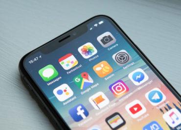 apps on phone screen digital deep clean