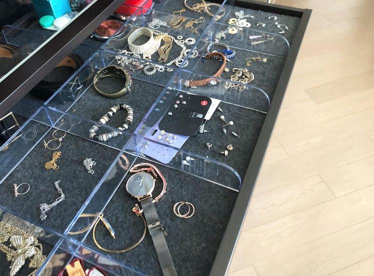 accessories tray holder drawer ikea wardrobe