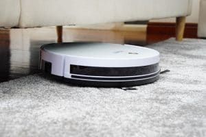 robot vacuum makes it easy to keep your house clean