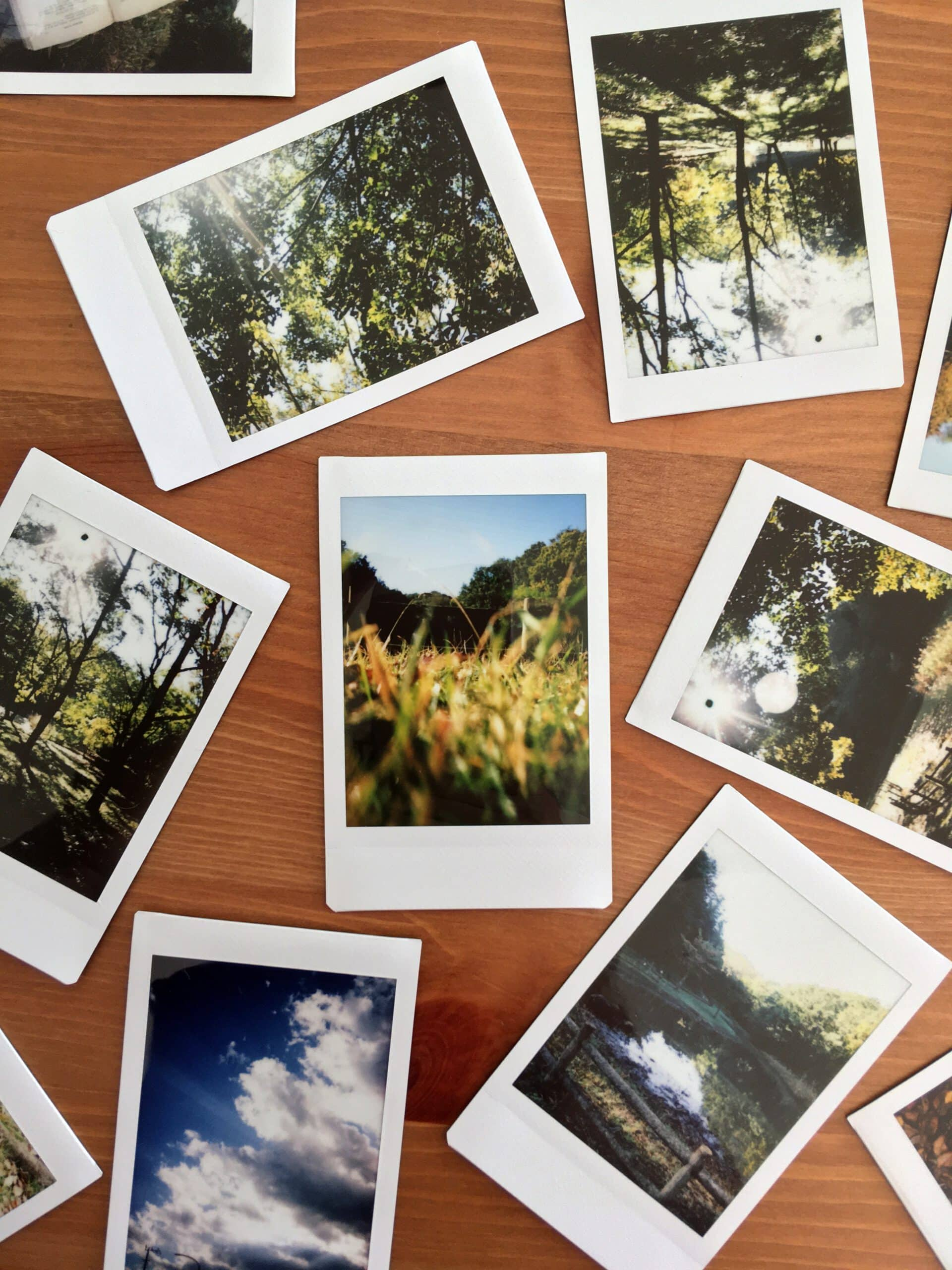 photo polaroids digital declutter