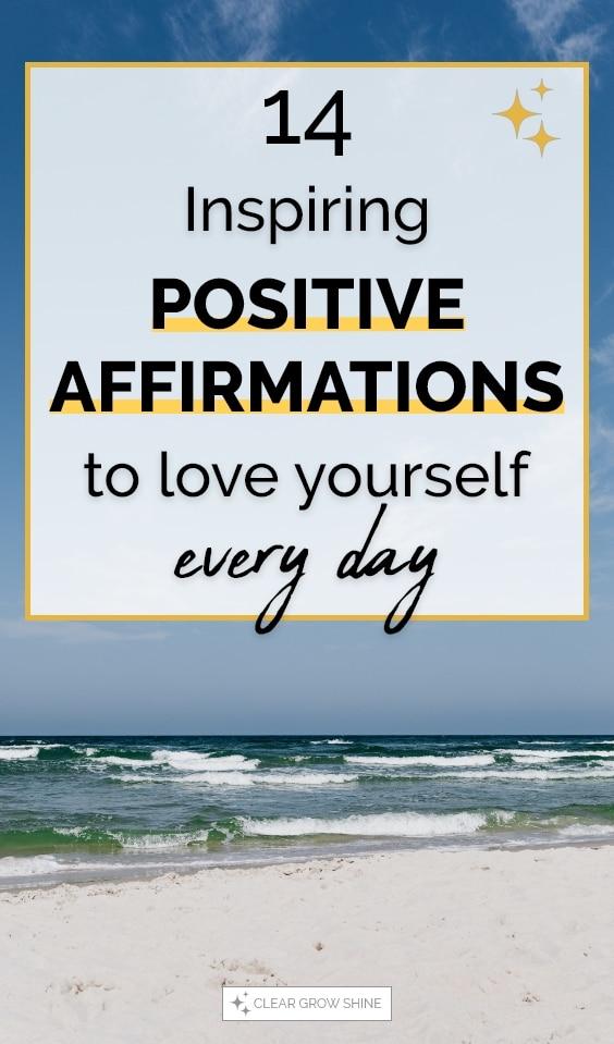 positive self love affirmations