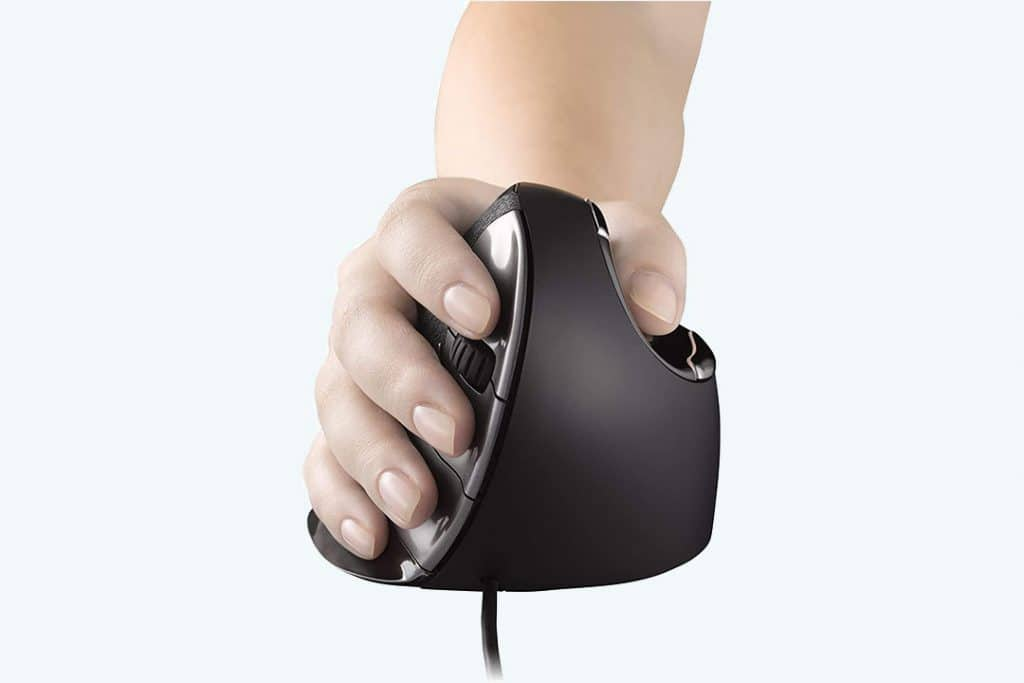 vertical mouse for work from home ergonomics