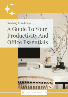 Guide to Your Productivity and Office Essentials